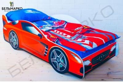 Детская кровать в виде машины MERCEDES.