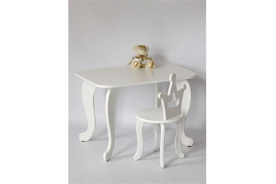 Детский стол и стул Королевна (комплект 1+1) код товара 5198
