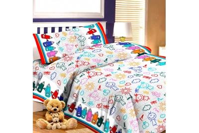 Детское постельное для подростков «Я рисую». (бязь)
