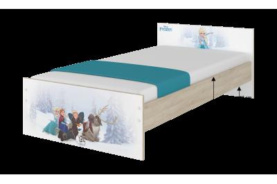 """Кровать детская с перилами MAX """"Винни""""+матрас."""