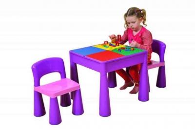 Десткий комплект мебели Tega baby Mamut цвет фиолетовый