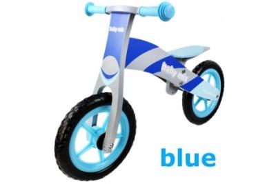 Детский беговел Baby Mix WB-002 синий.