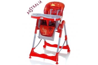 Cтульчик для кормления 4BABY Kid Continental Australia.