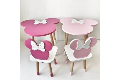 Детский стол и стул Дисней Минни код товара 5706