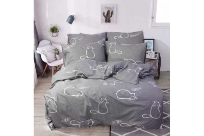 Детское постельное для подростков «Гарфилд ».(бязь)