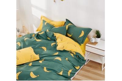 Детское постельное для подростков «Bananas». (поплин премиум)