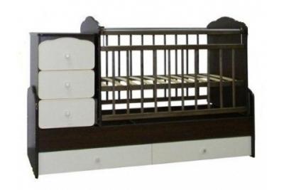 Детская кроватка трансформер СКВ 930038-5.