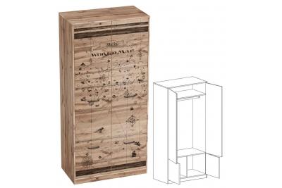 Шкаф в детскую Фрегат (для одежды)