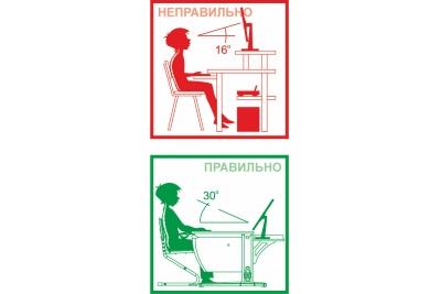 Парта трансформер ДЭМИ (СУТ.14-02) (розовый,клен) стул деревянный.