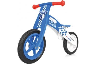 Детский беговел Baby Design B-Happy синий.
