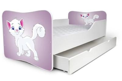 """Кровать детская от 3-х лет Nobiko 160x80 с шуфлядкой """"Единорог для Барби"""""""