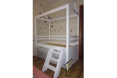Кровать Домик модель ИД-2.