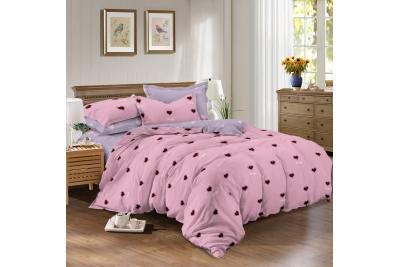 Детское постельное для подростков «Сердца». (поплин)