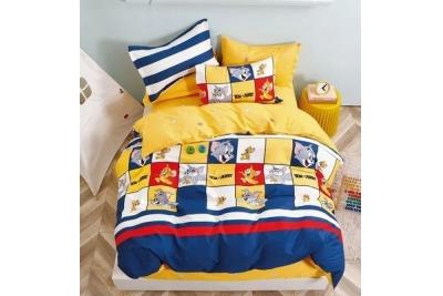 Детское постельное для подростков «Том и Джери». (поплин премиум)