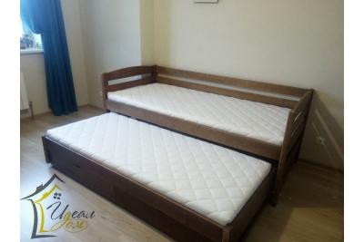 Выдвижная кровать Загадка (массив сосны).