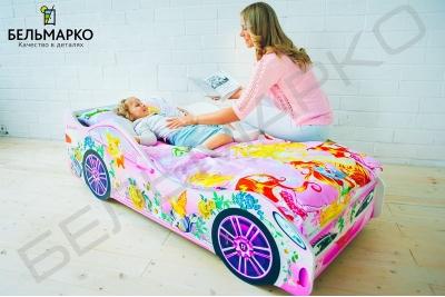 Кровать машинка Фея.