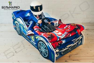 Кровать машинка Молния.