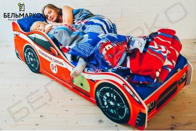 Кровать машинка Пожарная охрана.