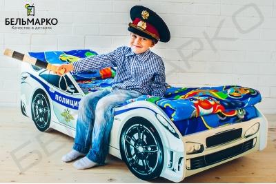 Кровать машинка Полиция.