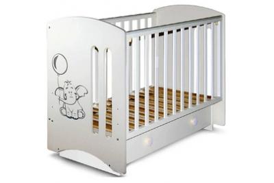 """Кроватка детская Laluca Шарлотта 3 """"Слоник """" (премиум)."""