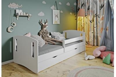 Кровать детская Хэппи арт.3  с ящиком и бортиками безопасности.