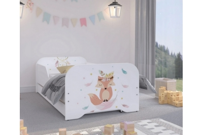 """Кровать подростковая Оскар XL """"Fox"""" с матрасом."""