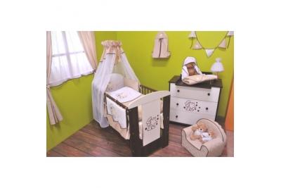Детская кроватка Klups Safari Мишка