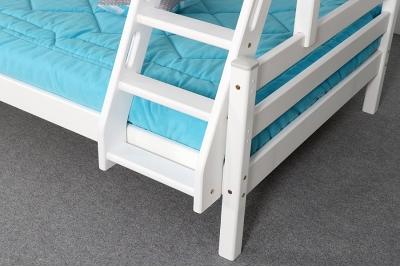Кровать двухъярусная Адель цвет белый.