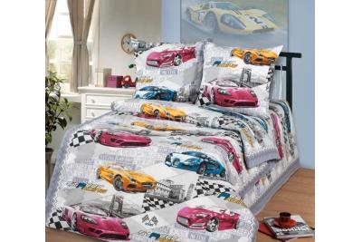 Детское постельное для подростков «Форсаж». (бязь)