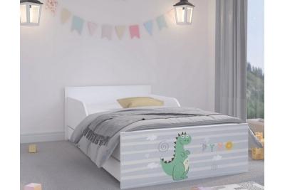 """Кровать подростковая Max XL """"Дино"""" с матрасом."""