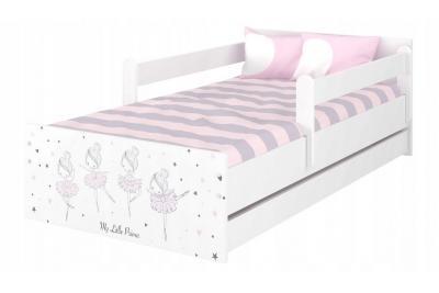 """Кровать подростковая Max XL """"Прима балерина"""" с матрасом."""