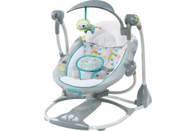 Детские электронные качели  Bright Starts Львенок (10215).