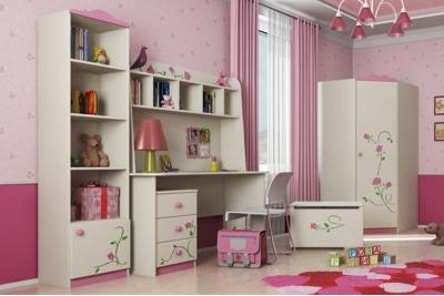 Мебель для детской комнаты коллекция Тедди Розалия.