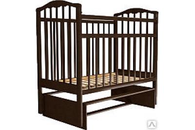 Детская кроватка Золушка-3 венге