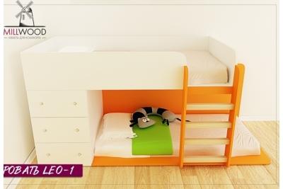 Кровать двухъярусная Leo1 ц 1.1.