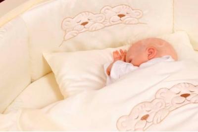 Комплект 6 предметов 6077 Incanto в круглую кроватку.