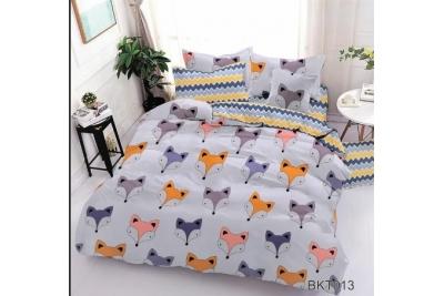 Детское постельное для подростков «Лисята».