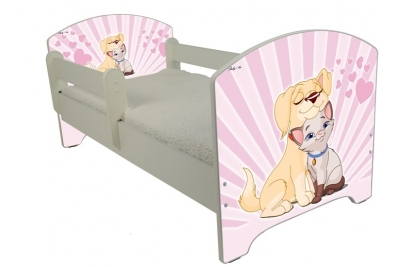 """Кровать детская от года Oskar """"Влюбленный пес""""."""