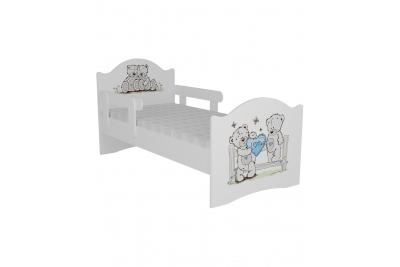 """Кровать детская с бортиками от 3-х лет """"Тедди"""" с матрасом."""