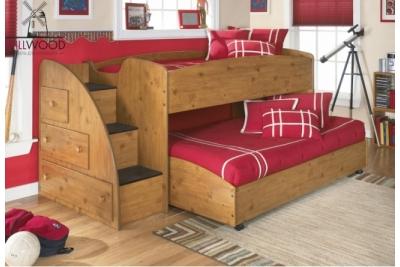 Выдвижная кровать для двоих детей Neo2.