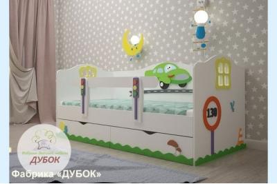 Кровать детская Тачка (фабрика Дубок).