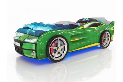 Кровать машина Romack Kiddy  Ferrari green (зеленый)