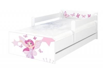 """Кровать подростковая Max XXL """"Маленькая принцесса""""  с матрасом."""