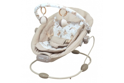Детский шезлонг Baby Mix BR245-019 бежевый