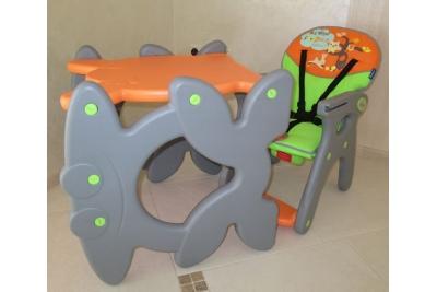 Стульчик - трансформер для кормления Beticco Orange
