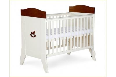 Детская кроватка KLUPS Castello (массив сосны).