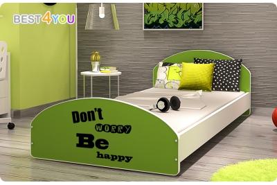 """Кровать подростковая Cross """"Be Happy"""" 200х90 с матрасом."""