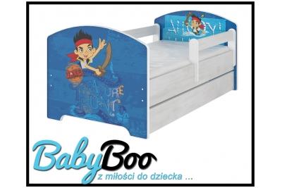 """Кровать детская с перилами Oskar X  Disney """"Джейк""""."""