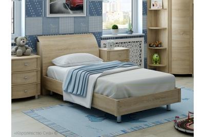 Кровать подростковая  арт. КР-108 дуб сонома.