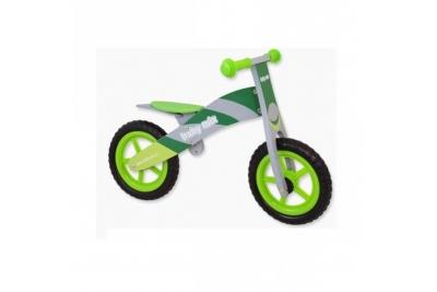 Детский беговел Baby Mix WB-002 зеленый.